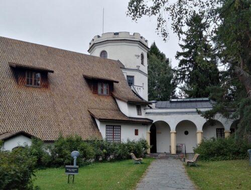 Widok na muzeum Gallena-Kalleli